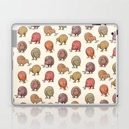 Hungry Kiwis – Warm Earth Tones Laptop & iPad Skin