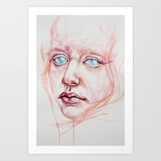 you've turned off my light Art Print