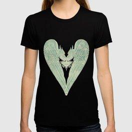 Battered Vintage Heart T-shirt