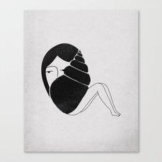 She Sells Sea Shells Canvas Print