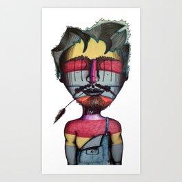 Joshwa Art Print