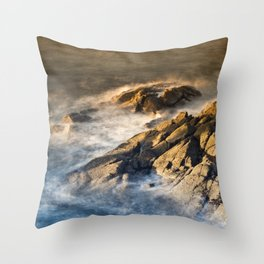Smoothing The Rough Throw Pillow