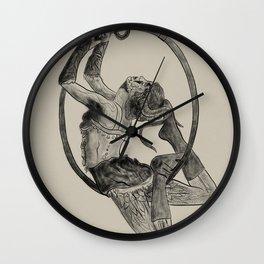 Contorted Rain - 709. Wall Clock