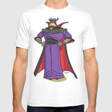 Toy Story | Emperor Zurg X-LARGE White Mens Fitted Tee