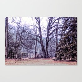 Landscape at Old Kennett Meetinghouse Canvas Print