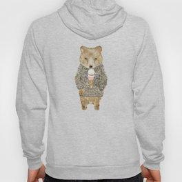 sundae bear Hoody