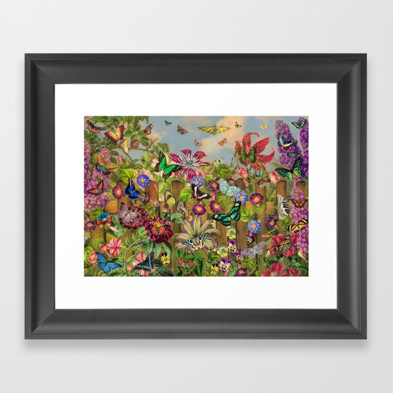 Butterfly Garden by foxfires