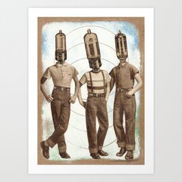 The Audiophile Society Art Print