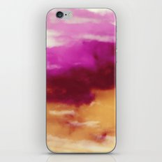 Cherry Rose Painted Clouds iPhone & iPod Skin
