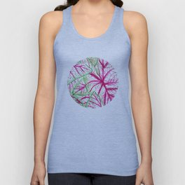Heart leaves Unisex Tank Top