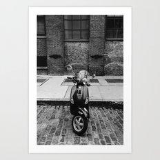 Brooklyn Ride II Art Print