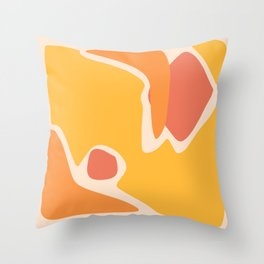 Shapes V Throw Pillow