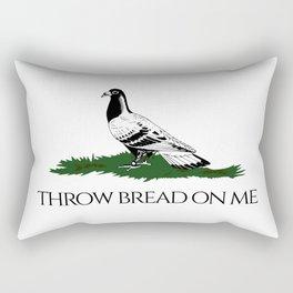 Throw bread on me Rectangular Pillow