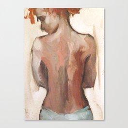 Tendeness Canvas Print