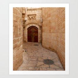 Door in Israel 1 - M Art Print
