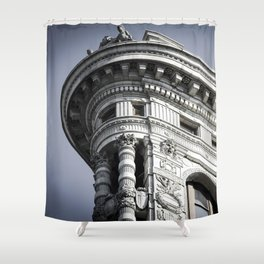 Top of the Iron Shower Curtain