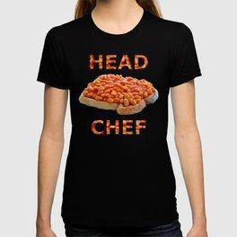 Head Chef Beans on Toast T-shirt