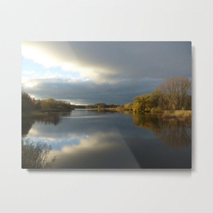 View   on the Lake Metal Print