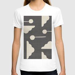 Clouds and lollipops - dark version T-shirt