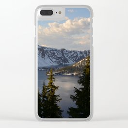 Crater Lake - Spring Clear iPhone Case