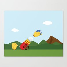 Flying Lessons Canvas Print