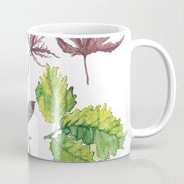 the daily creative project: leaves Coffee Mug