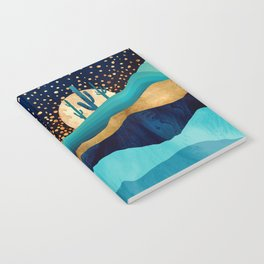 Indigo Desert Night Notebook