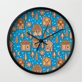 Cookie town Wall Clock