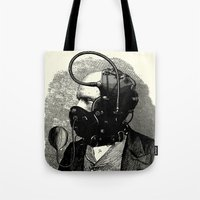 bdsm Tote Bags featuring BDSM X by DIVIDUS