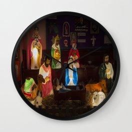 O little Town Of Bethlehem Wall Clock