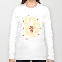 dbz Long Sleeve T-shirts featuring dbz by Louis Roskosch