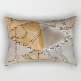 Snakes and Ladders Rectangular Pillow