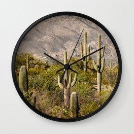 Scenes from Arizona, No. 2 Wall Clock