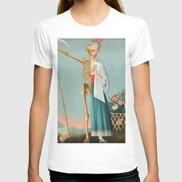 Life and Death Vintage Oil Painting T-shirt