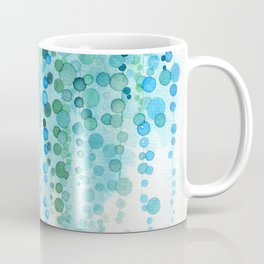 String of Pearls Watercolor Coffee Mug