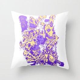 Springtrap (Colored version) Throw Pillow