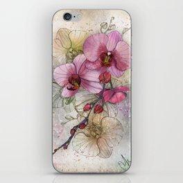 tiny, perfect beauty iPhone Skin