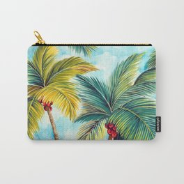 Palm Tree Allover Carry-All Pouch