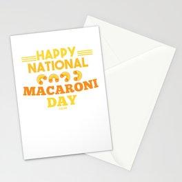National Day Macaroni pasta Italy Stationery Cards