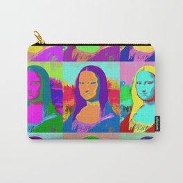 Mona Lisa - Pop Art Carry-All Pouch