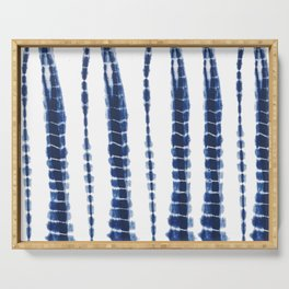 Indigo Blue Tie Dye Delight Serving Tray