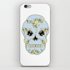 Rococo Skull iPhone & iPod Skin