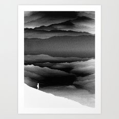 Solar Noise Isolation Series Art Print