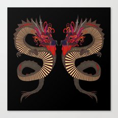 DRAGON INK Canvas Print