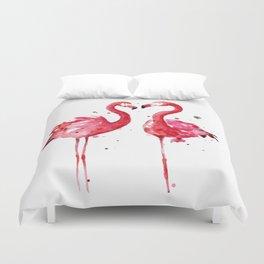 Pink Flamingos Bettbezug