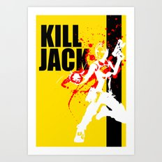 KILL JACK - SIREN Art Print