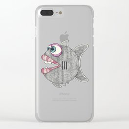 Fish Lips Clear iPhone Case