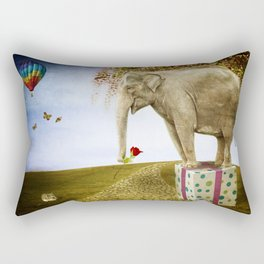 Good Things Don't Always Come in Small Packages Rectangular Pillow