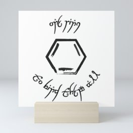 One Ring Mini Art Print