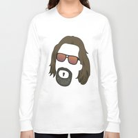 the dude Long Sleeve T-shirts featuring Dude by DE.FE.